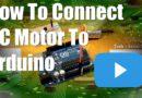 Hoe DC-motor + code aan te sluiten [Arduino Tutorial]