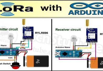 Hoe LoRa te gebruiken met Arduino    LoRa-zelfstudie met circuitcode en AT-opdrachten    Reyax RYLR896