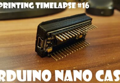 3D-printen timelapse # 16 Arduino Nano-behuizing (UHD – 4K!)