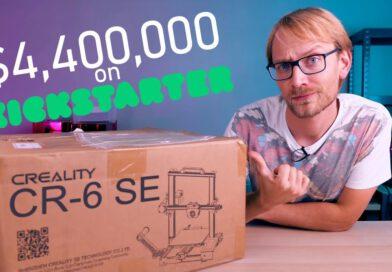Was Live: Unboxing Creality's Kickstarter Wunderkind – CR-6 SE!