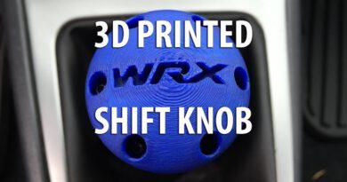 Custom 3D Printed Shift Knob for my Subaru WRX