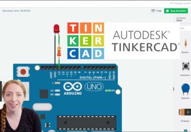 Knipper een LED met Arduino in Tinkercad