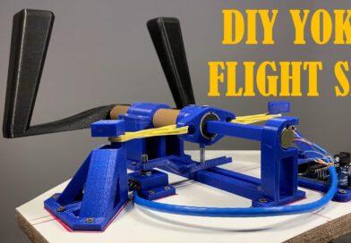 3D-geprint DIY Flight Simulator Yoke met Arduino – Easy Project