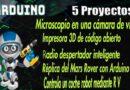 5 Arduino PROJECTEN, 🚀🚀 Microscoop, 3D-printer, Mars Rover, Robotauto, Wekker
