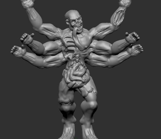 Download gratis STL-bestand Army Zombie • Model naar 3D-print print Cults