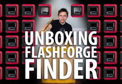 Unboxing the Flashforge Finder 3D Printer