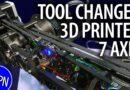 3D Printed Tool Changer Robotic Arm from Haddington Dynamics