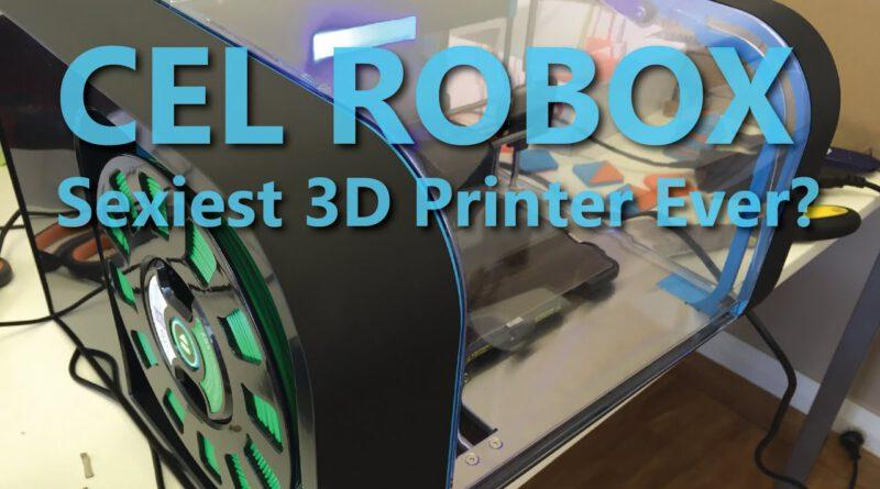 Sexiest 3D Printer Ever??? The CEL Robox – 2015